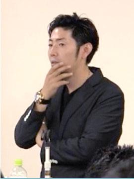 松田真輔氏 存在感を得るステージ作りというのが企業使命