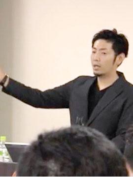 松田真輔氏 理念を落としこむ